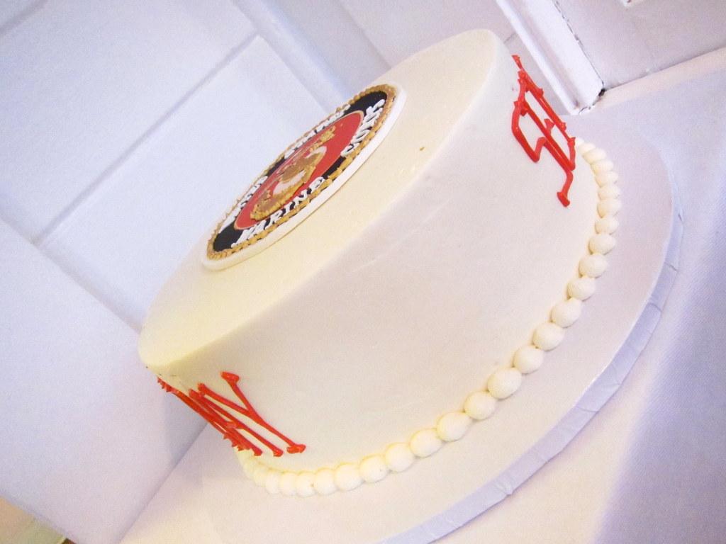 Surprising Marine Corps Birthday Cake Polkadots Olga Flickr Birthday Cards Printable Trancafe Filternl