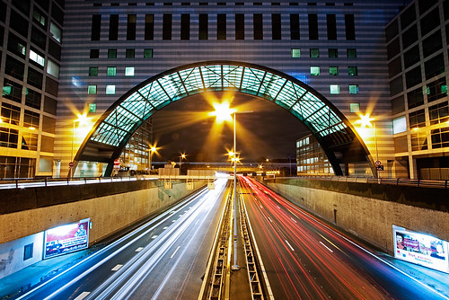 dollia sheombar dollias dolliash canoneos50d 50d canon canonefs1022mmf3545usm ultrawide wideangle 1022mm holland nederland thenetherlands zuidholland southholland denhaag thehague fastmovingtraffic 1022 night nightshot light lights city color colors le longexposure noche nacht stad nuit notte noch nachtopname photo photos foto photography europe architecture urban trails red blue nn nationalenederlanden a12 utrechtsebaan verkeer people construction building highway road snelweg 3000views topf50 topf100 topf150