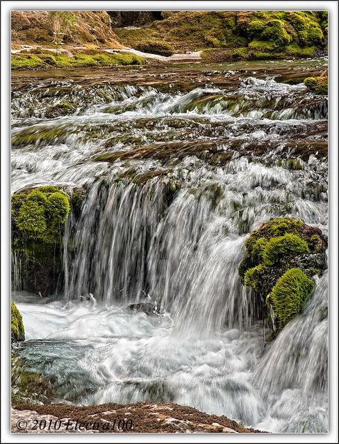 Río Pitarque, comarca del Maestrazgo turolense.