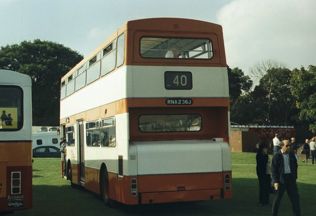 2236, RNA 236J, Daimler Fleetline (3)