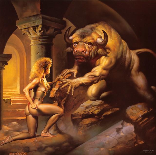 +1991 El Minotauro y Ariadna
