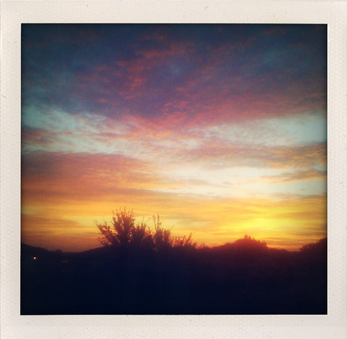 pink blue orange newmexico color yellow sunrise roswell