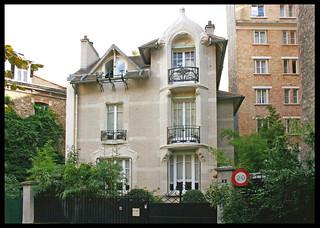 Hôtel Deron-Levent [1907]- Paris XVIe