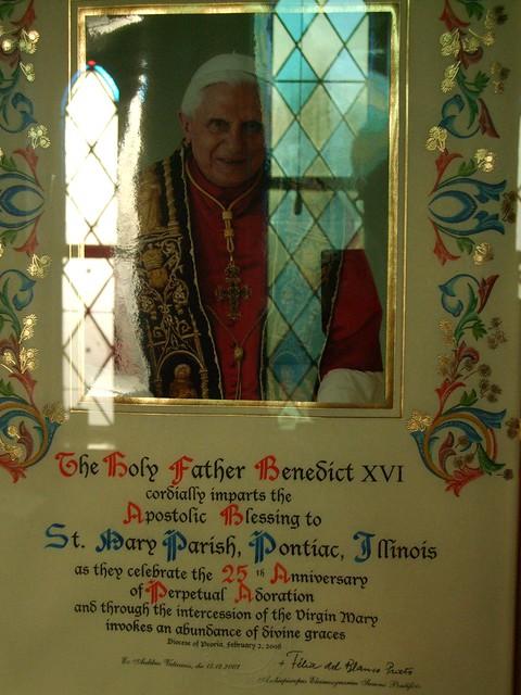 St. Mary Catholic Church, Adoration Chapel, Pontiac, IL