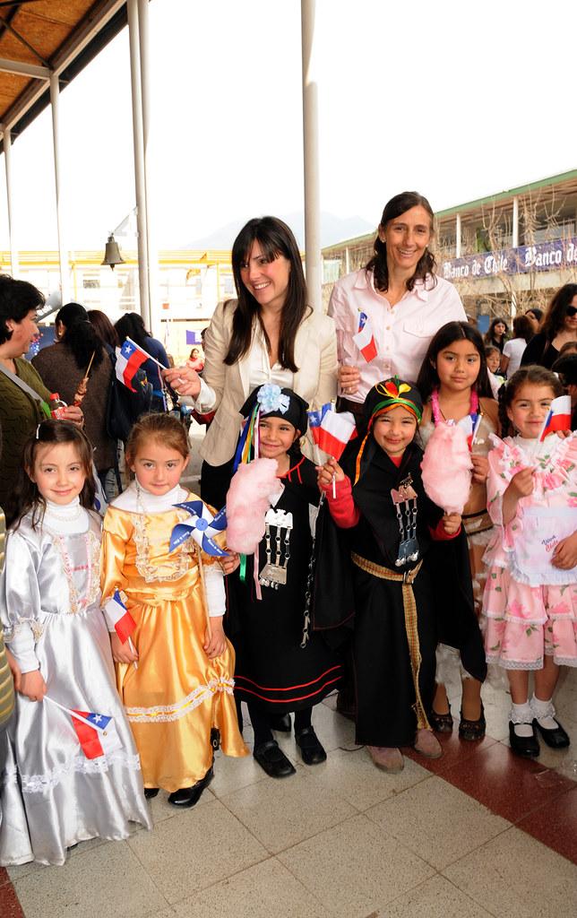 junto Chile de el celebra a los Bicentenario niños d Banco gyv7b6Yf