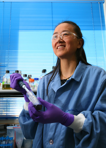 Dr. Xiaoyun Lu of the Bioscience Division