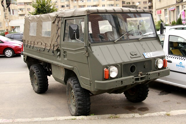 Pinzgauer military vehicle
