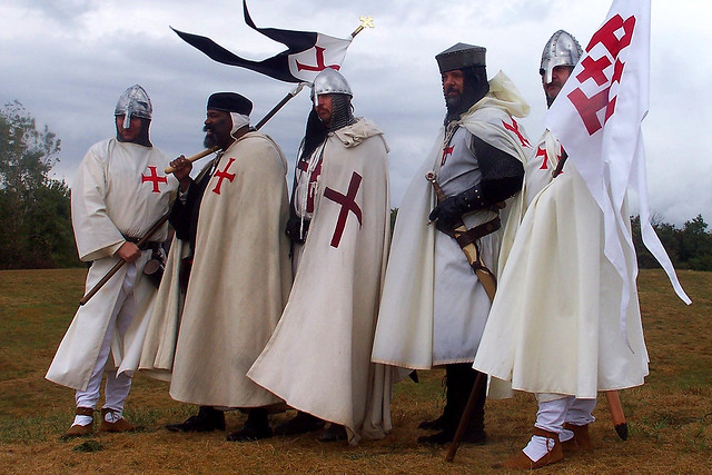 Worthy band of Templar Knights