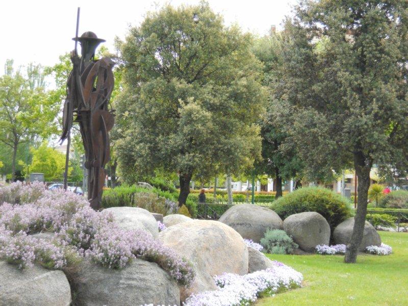 Escultura del pastor
