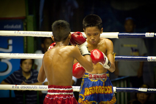 Young Kids Muay Thai Boxing | by goingslowly