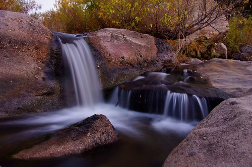 longexposure autumn sunset fall landscape waterfall twilight scenery colorado dusk cascade castlewoodcanyon franktown mygearandmepremium