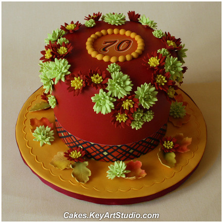 Pleasant Fall Birthday Cake Cakes Keyartstudio Com Cake Blog Item 5 Flickr Funny Birthday Cards Online Elaedamsfinfo