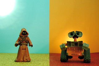 Jawa vs. WALL-E (312/365) | by JD Hancock
