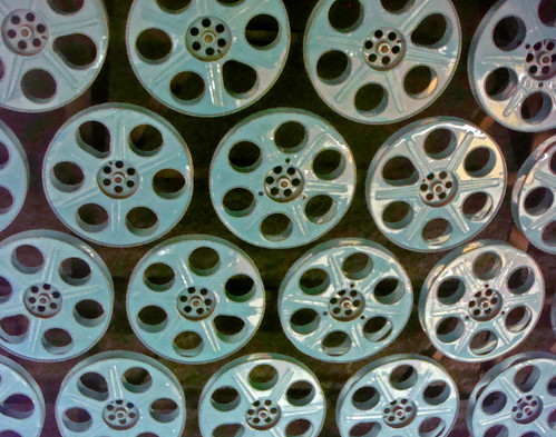 02i Hollywood and Vine Station -  Station Ceiling made from Film Reels (E) | by Kansas Sebastian