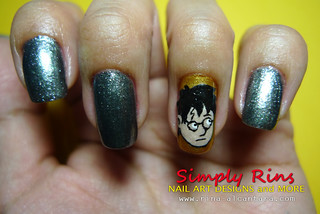 Nail Art Harry Potter 02 | by Simply Rins
