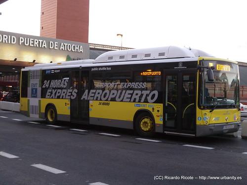 Bus Exprés Aeropuerto - Atocha