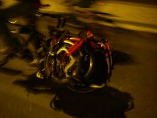 Brompton on Xtracycle