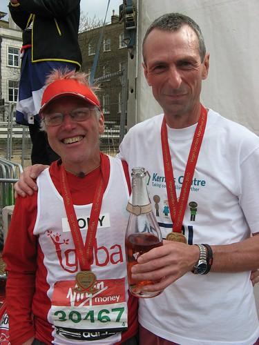 Tony at the London Marathon, 2010 | by guba.swaziland