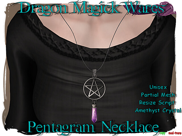 Pentagram Necklace For MND6