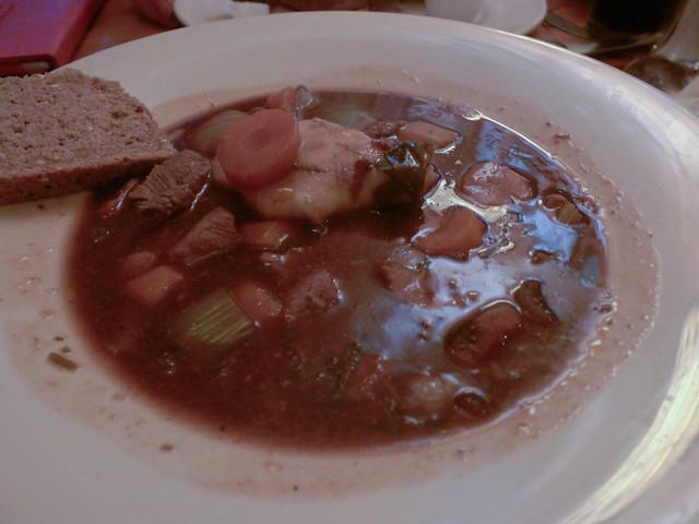 Irish Stew at McGann's Pub