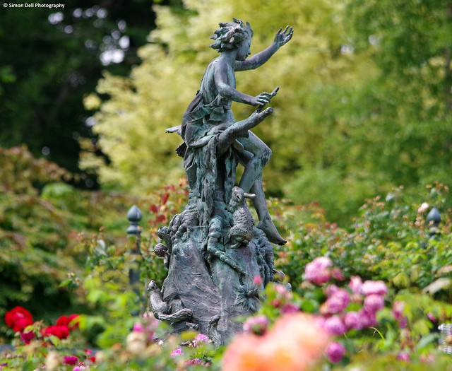 pan statue botanical gardens sheffield (1)