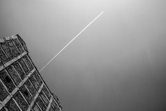 High above a crumbling Smoketown