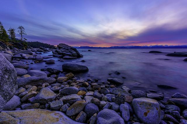 Silence at dusk...
