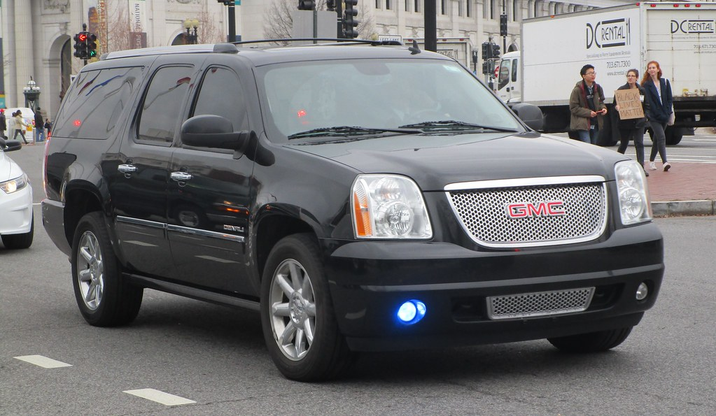 United States Capitol Police Unmarked GMC Denali   A United