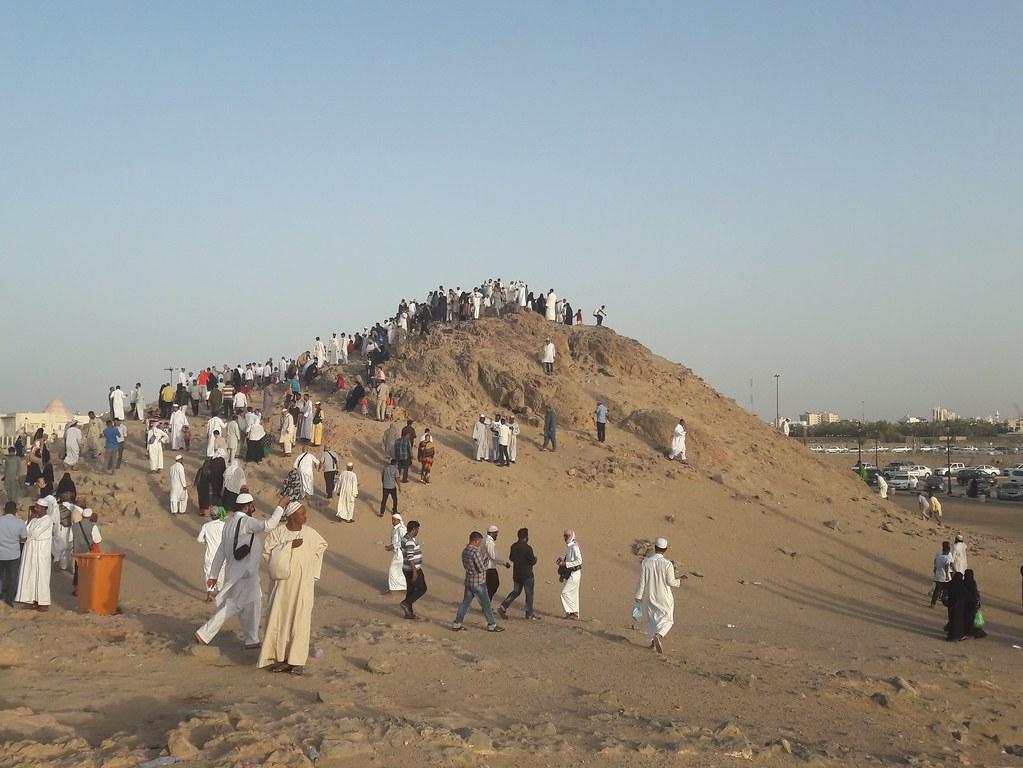 جبل الرماة غزوة احد سيد الشهداء Omar Mohamed Flickr