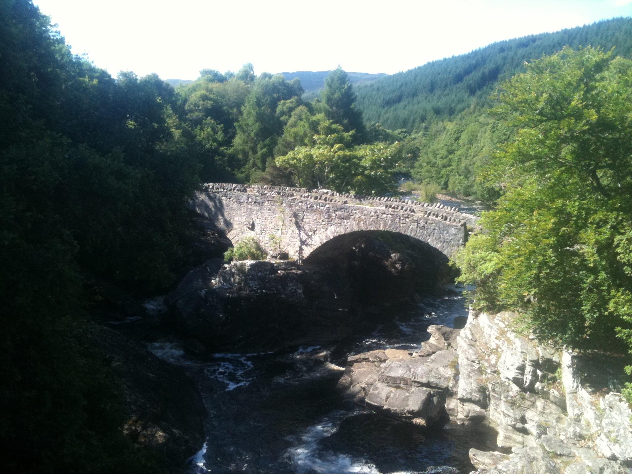 The bridge at Invermoriston