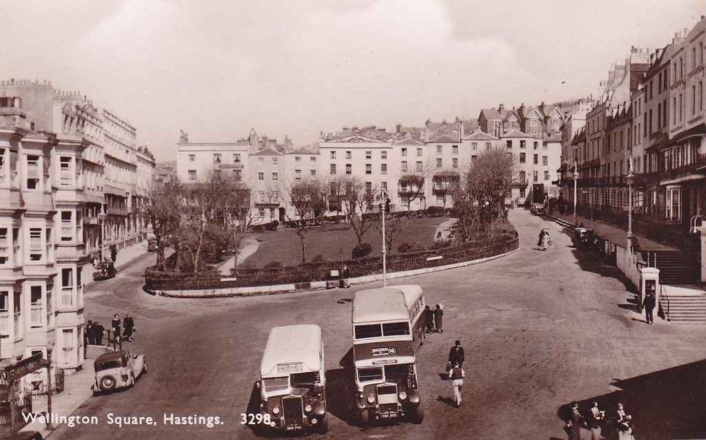 Wellington Square Hastings For Many Years The Square