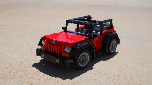 2010 Jeep wrangler (lego)