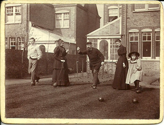 Lewis Tomalin (founder of Jaeger) and family at 20 Cambalt Road, Putney, c. 1895 | by whatsthatpicture