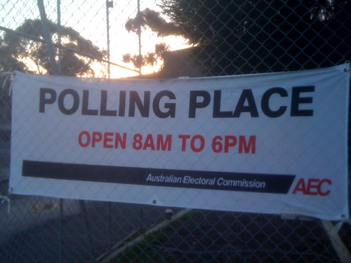 Australia Votes 2010 | by Alex Schlotzer