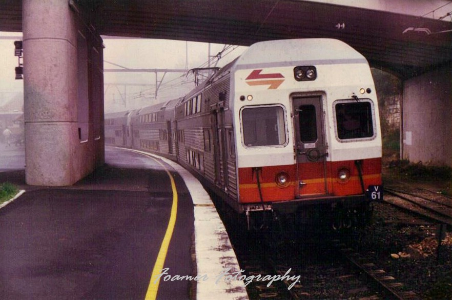 V61 at a Foggy Katoomba by Anthony