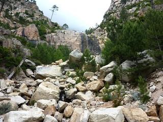 :Arrivée à la cascade noire 680m