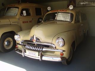 1956 Holden FJ ambulance