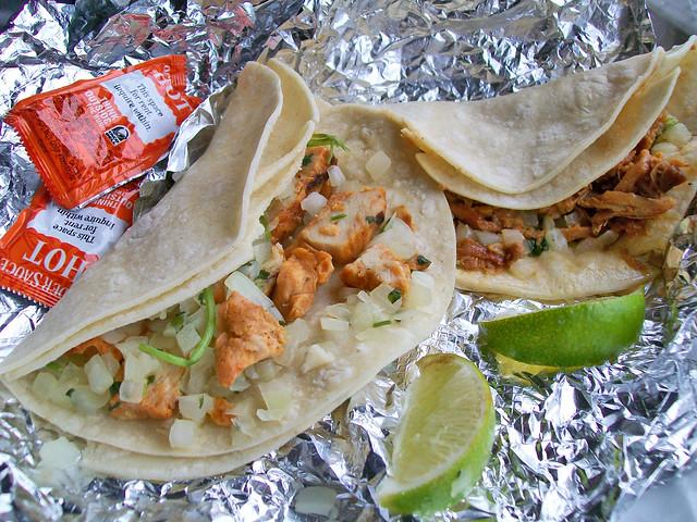 Taco Bell Cantina Tacos