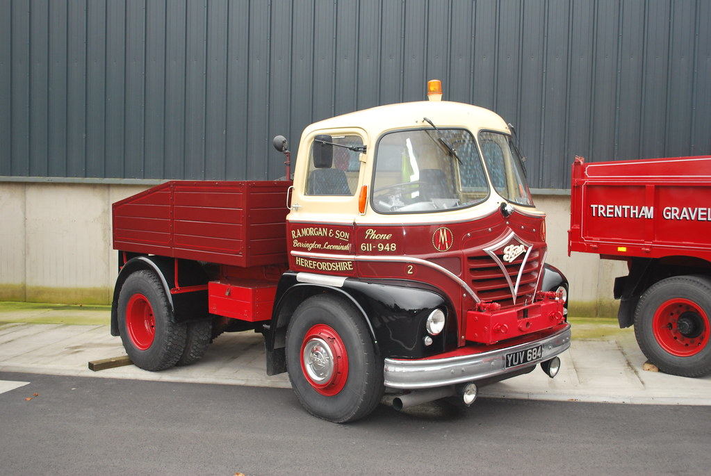 Roy Morgan's FODEN S21 Timber Tractor - YUV 684 | Bishops Ca