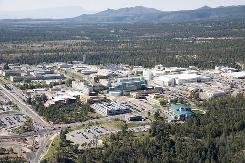 Aerial View of Los Alamos National Laboratory - 2