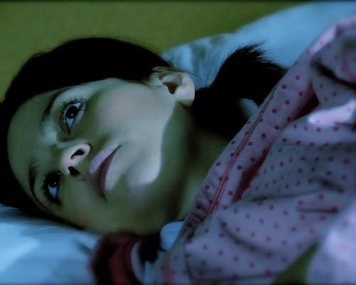 Girl Waiting For Sleep | by Alyssa L. Miller