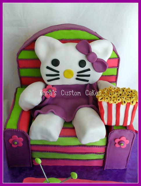 Hello Kitty Birthday Cake!