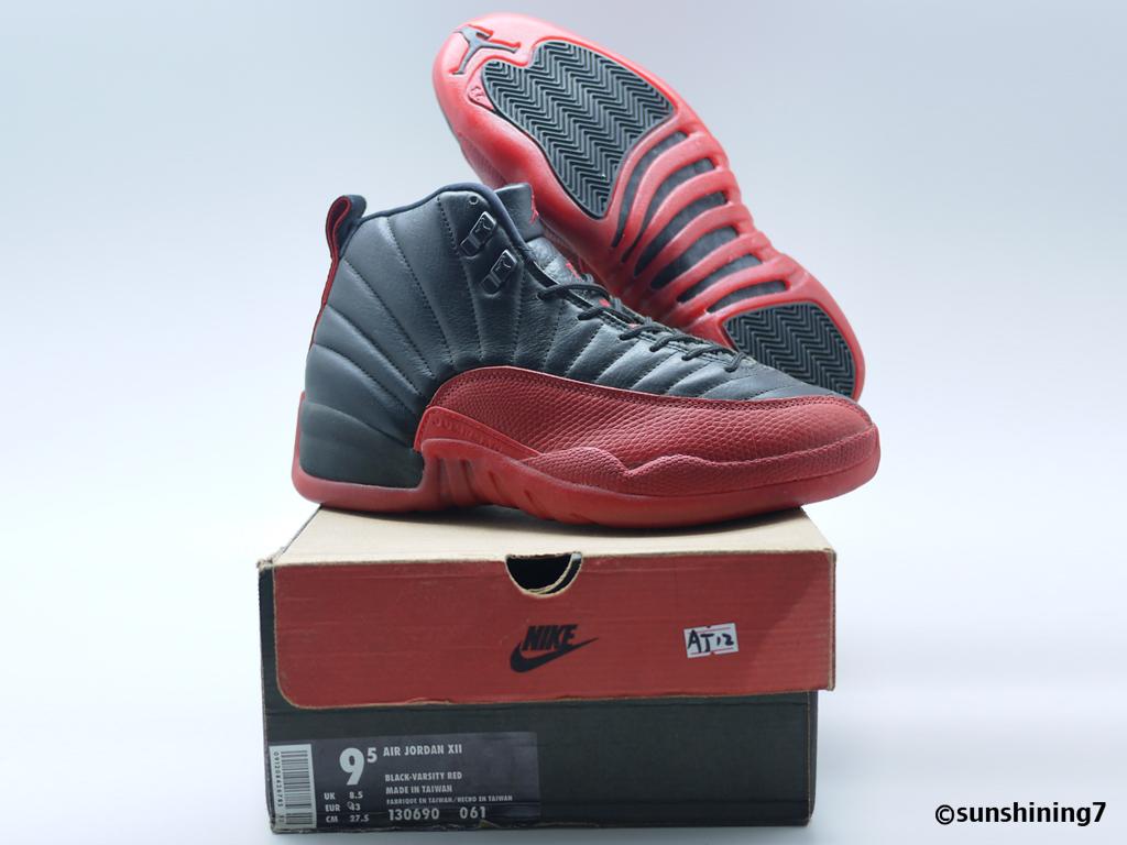 09614939a3f2cb ... Sunshining7 - Nike Air Jordan XII (12) OG 1996 - Black Varsity Red