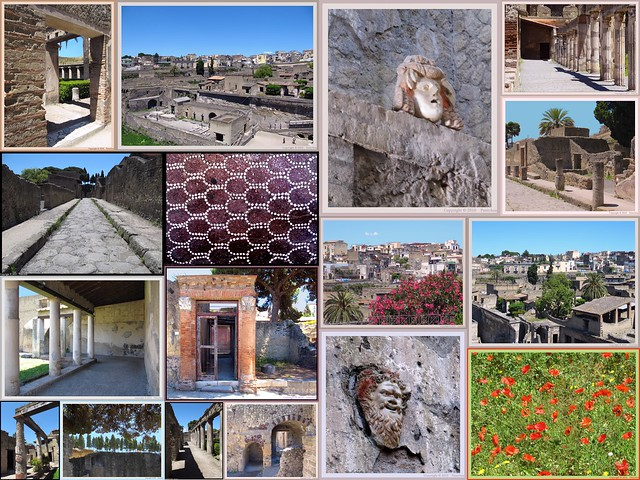 Herculaneum : Video YouTube - Past and present