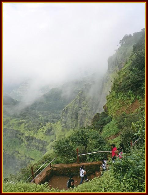 View from Arthur's Seat - Mahabaleshwar