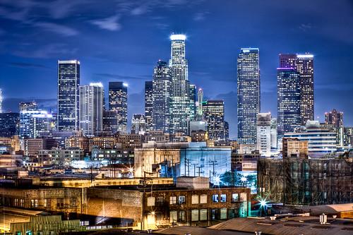 california ca city longexposure urban skyline night canon landscape photography la losangeles los downtown cityscape angeles joshua cityscapes 5d hdr gunther mkii joshuagunther