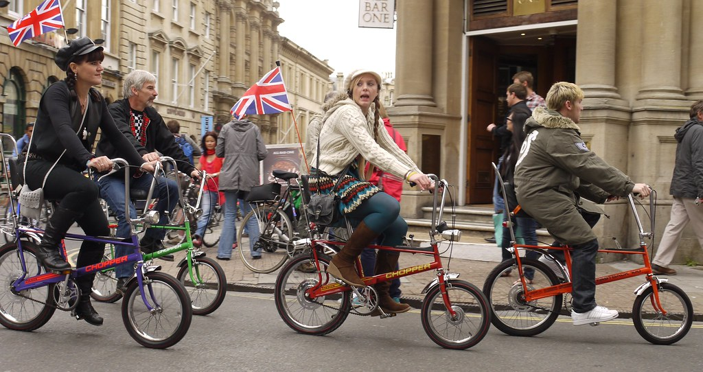 Raleigh Chopper Mods | Bristol Cycle Carnival  Some video at… | Flickr