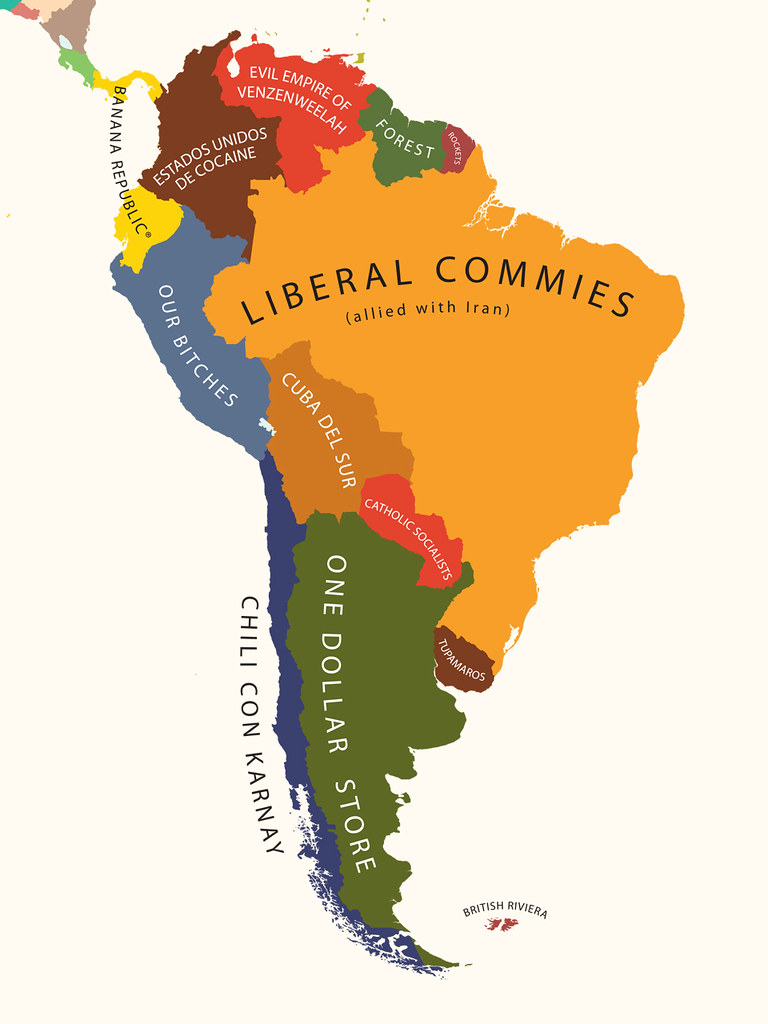 South America According to the United States of America | Flickr