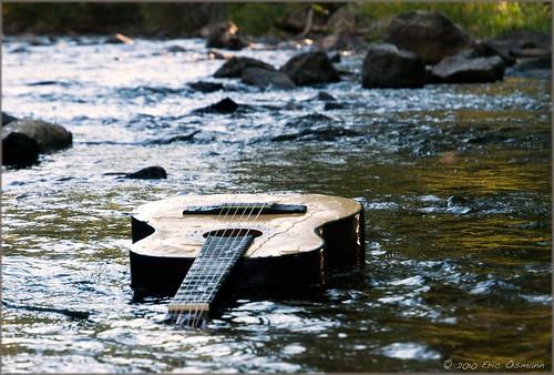 print colorado photoshoot guitar evergreen floatingaway ericosmann guitarinriver