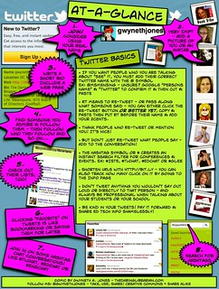 Twitter_At_A_Glance - IMPROVED!   by The Daring Librarian